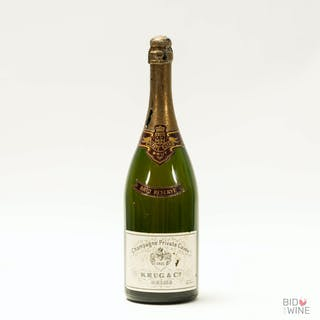 1960s Krug Private Cuvee Brut Reserve, 1 x 150cl bottle, 1960s Krug