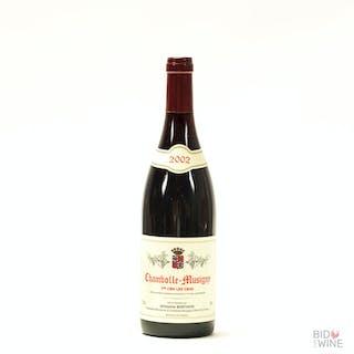 2002 Chambolle-Musigny Les Cras, Ghislaine Barthod, 12 x 75cl bottles