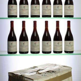 1997 Clos-Vougeot, Rene Engel, 12 x 75cl bottles, 1997 Clos-Vougeot