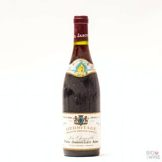 1975 Hermitage La Chapelle, Paul Jaboulet Aine, 1 x 75cl bottle, 1975