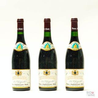 1988 Hermitage La Chapelle, Paul Jaboulet Aine, 3 x 75cl bottles