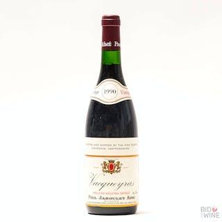 1990 Vacqueyras, Paul Jaboulet Aine, 12 x 75cl bottles, 1990 Vacqueyras