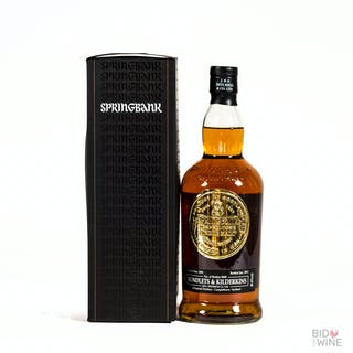 2001 Springbank bottled for Rundlets and Kilderkins, 1 x 70cl bottle