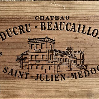 2004 Ducru Beaucaillou, 12 x 75cl bottles, 2004 Ducru Beaucaillou