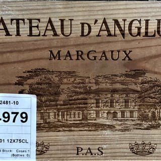 2001 Angludet, 12 x 75cl bottles, 2001 Angludet, 12 x 75cl bottles