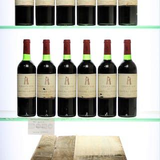 1975 Latour, 12 x 75cl bottles, 1975 Latour, 12 x 75cl bottles