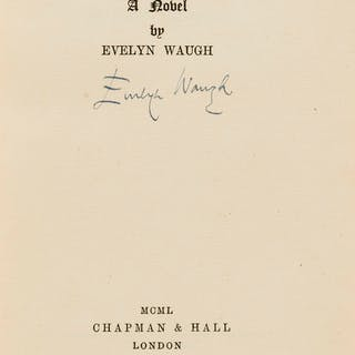 Waugh (Evelyn) Helena, first edition, signed by the author, 1950.