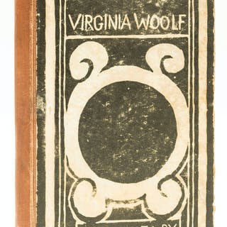 Woolf (Virginia) Monday or Tuesday, first edition, 1921. Woolf (Virginia)
