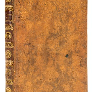 Gibbon (Edward) An Essay on the Study of Literature, first edition