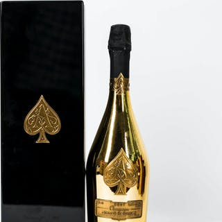 Non Vintage Ace of Spades, Armand de Brignac, 2 bottles of 75cl.