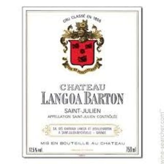 2012 Langoa Barton, 12 bottles of 75cl, IN BOND (alcohol: 13%).