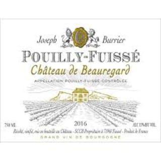 2016 Pouilly Fuisse, Chateau de Beauregard/Joseph Burrier, 12 bottles of 75cl