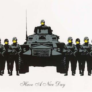 Banksy (b.1974) Have a Nice Day, Banksy (b.1974), Have a Nice Day