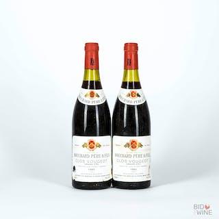 1985 Clos Vougeot, Bouchard Pere et Fils, 2 bottles of 75cl