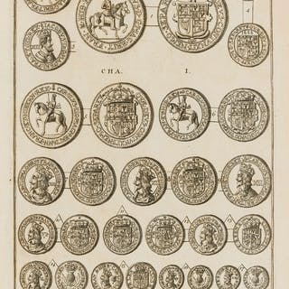 Numismatics.- Coins.- Folkes (Martin) Tables of English Silver and
