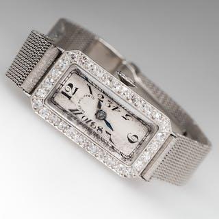 Vintage Patek Philippe Eighteen Jewel Manual Wind Wrist Watch