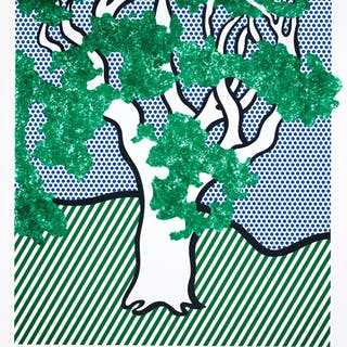 ROY LICHTENSTEIN | RAIN FOREST (C. 278)