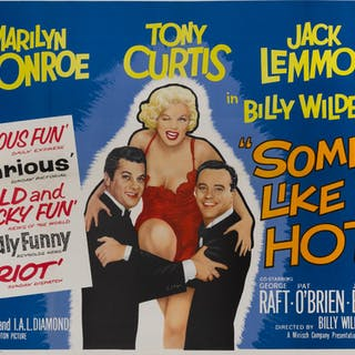 SOME LIKE IT HOT (1959) POSTER, BRITISH