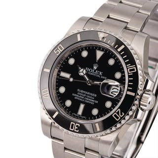ROLEX | Submariner, Ref. 116610LN, A Stainless Steel Wristwatch with