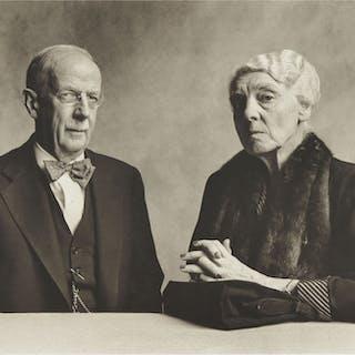 IRVING PENN | DR. & MRS. GILBERT H. GROSVENOR
