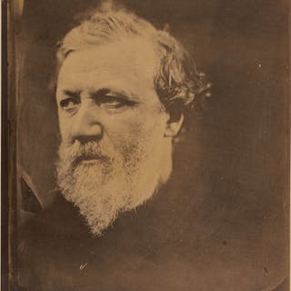 JULIA MARGARET CAMERON | 'ROBERT BROWNING'