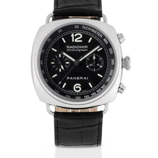 PANERAI | RADIOMIR, REF PAM00288 LIMITED EDITION STAINLESS STEEL CHRONOGRAPH
