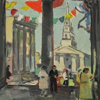 ANNE ESTELLE RICE | JOUR DE FÊTE, PARIS, 1930