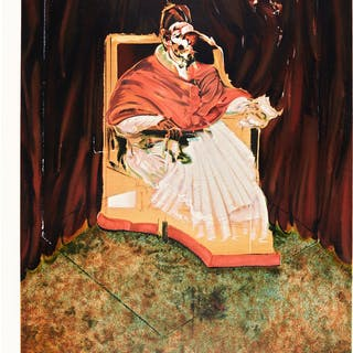 FRANCIS BACON | STUDY FOR PORTRAIT OF POPE INNOCENT X AFTER VELASQUEZ (S. 14)