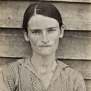 WALKER EVANS | ALLIE MAE BURROUGHS, WIFE OF COTTON SHARECROPPER, HALE