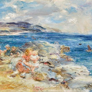 WILLIAM MCTAGGART, R.S.A., R.S.W. | NOON