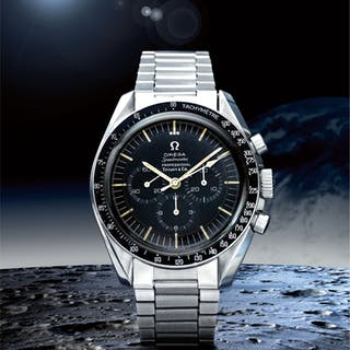 OMEGA | SPEEDMASTER REF 105.012-65 'TIFFANY & CO.', A STAINLESS STEEL