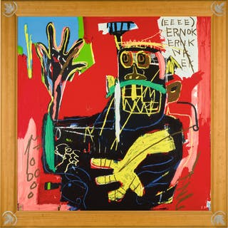 AFTER JEAN-MICHEL BASQUIAT | UNTITLED (ERNOK)