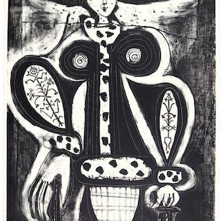 PABLO PICASSO | LA FEMME AU FAUTEUIL (B. 1353; M. 138)