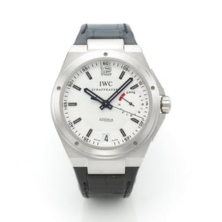 IWC | INGENIEUR, A LIMITED EDITION PLATINUM AUTOMATIC CENTER SECONDS