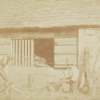 Lot 172 WILLIAM HENRY FOX TALBOT   THE WOODCUTTERS