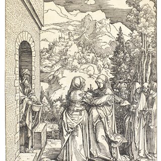ALBRECHT DÜRER | THE VISITATION (B. 84; M., HOLL. 96)