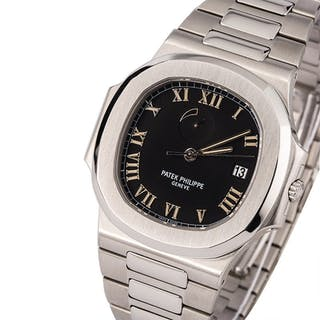PATEK PHILIPPE | Nautilus, Ref. 3710/1A, A Stainless Steel Wristwatch