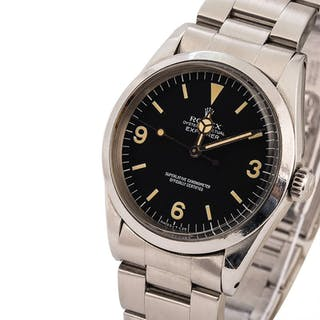 ROLEX  Explorer, Ref. 1016, A Stainless Steel Wristwatch with Bracelet
