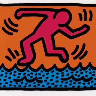 KEITH HARING | POP SHOP II (L. PP. 96-97)