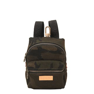 "Louis Vuitton x Supreme Camouflage ""Apollo"" Nano Backpack of Canvas"