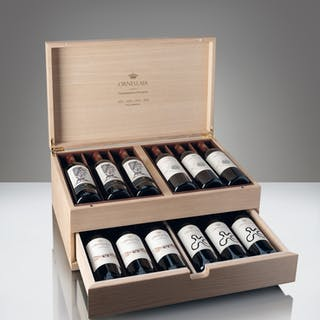1 UNIQUE COLLECTION CASE OF 12 x 750 ML BOTTLES OF ORNELLAIA WITH