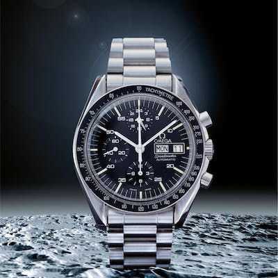 OMEGA | SPEEDMASTER REF 376 0822 'HOLY GRAIL', A STAINLESS