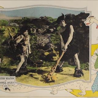 THREE AGES (1923) LOBBY CARD, US