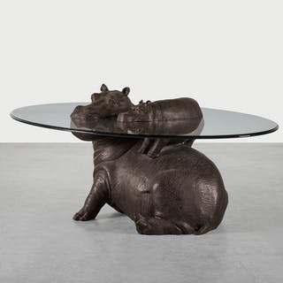 MARK STODDART | HIPPO & BABY COFFEE TABLE  2001