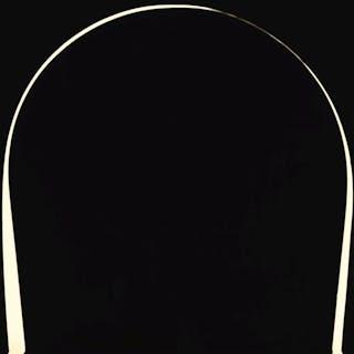 IAN DAVENPORT | POURED PAINTING: BLACK, WHITE, BLACK