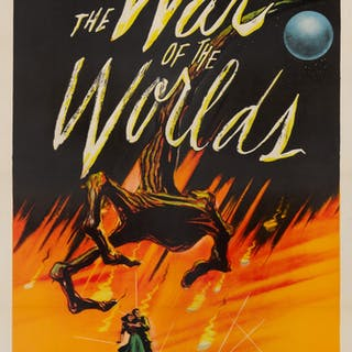 THE WAR OF THE WORLDS (1953) POSTER, US
