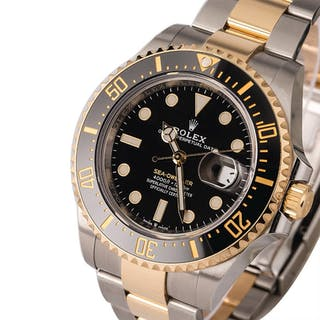 ROLEX | Sea-Dweller, Ref. 126603, A Stainless Steel and Yellow Gold
