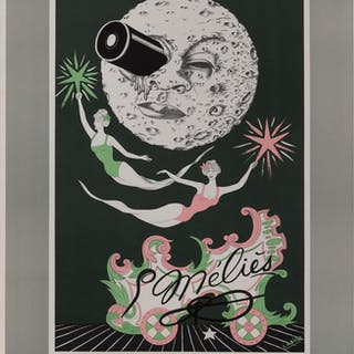 CENTENARIO GEORGES MELIES, CINEMATHEQUE FRANCAISE (1961) POSTER, FRENCH