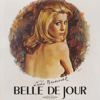 BELLE DE JOUR (1967) POSTER, FRENCH