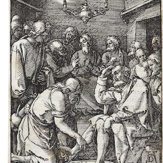 ALBRECHT DÜRER | CHRIST WASHING THE FEET OF THE DISCIPLES; PILATE